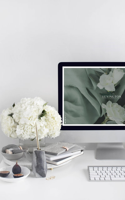Lexington - Showit Website Template by With Grace and Gold