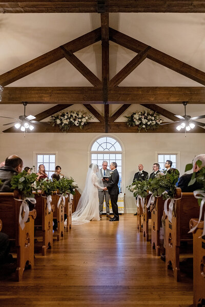 Founder's Chapel at White's Chapel Wedding Photographer