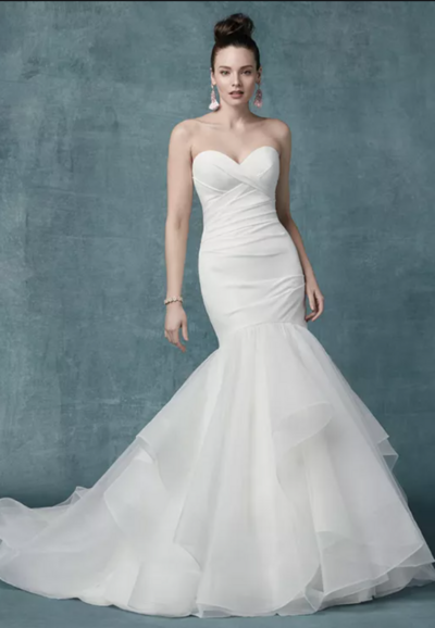 Mermaid Bridal Dress. It goes without saying that a figure-flaunting gown should fit and flatter. This girly-glam mermaid bridal dress is designed to smooth, enhance, and captivate in all the right places.