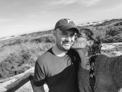Maria and Scott at Assateague National Seashore