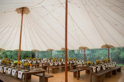 CT Wedding Rehearsal Dinner in a Sperry Tent