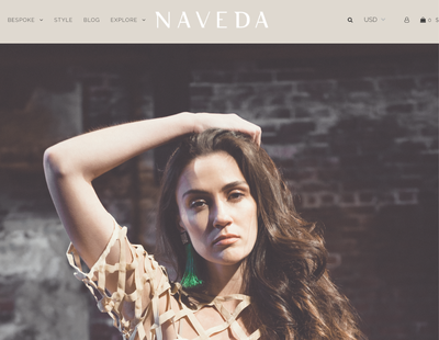 House of Naveda Shopify Design