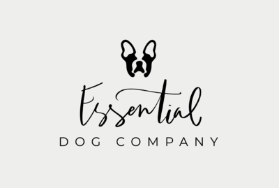 Minimal dog logo by Tribble Design Co.