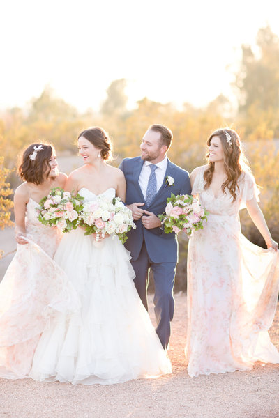Blush Handcrafted Romance Wedding Scottsdale, Arizona | Amy & Jordan Photography