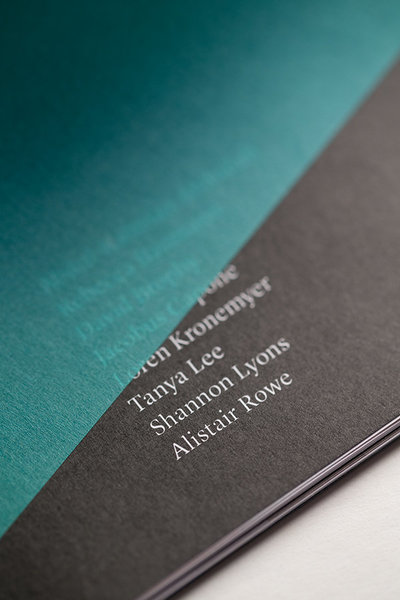 Editorial design – a catalogue of an art exhibition in Perth, Australia