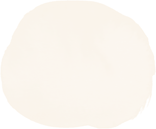cream water color circle