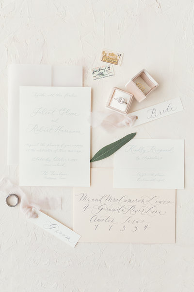 Stationery at The Farmhouse in Montgomery, Texas