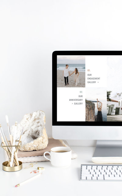 Austin - Showit Website Template by With Grace and Gold