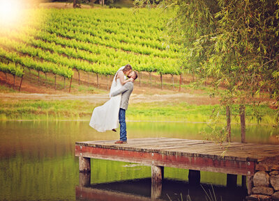 Grape vines vineyard wedding Northern CA