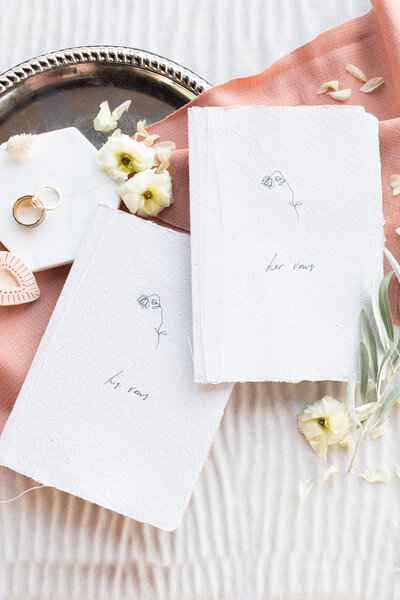 luxury wedding stationary imported from madrid spain