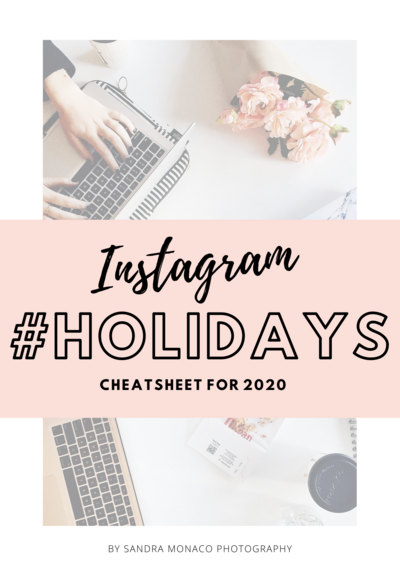 Instagram Holidays CheatSheet