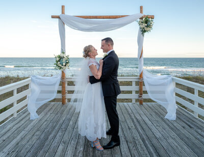 Nick and Tara - Wrightsville Beach NC Wedding - Bella Lumiere Photography