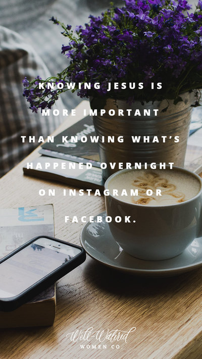 knowing jesus story