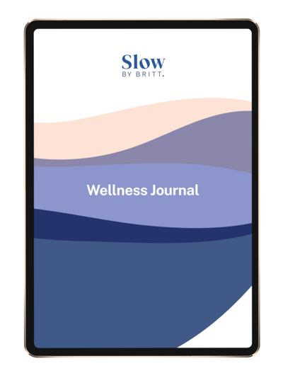 SlowBB_Wellness Journal mock up