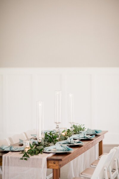 Reception table details by Knoxville Wedding Photographer, Amanda May Photos