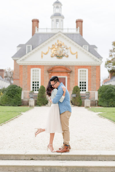 colonial williamsburg engagement session-11