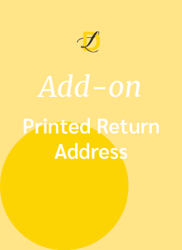 Add-on_Printed-return-address