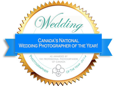 VP Studios Photography National Wedding Photographer of the Year PPOC
