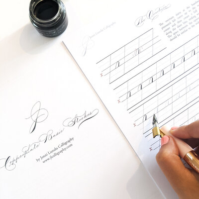 Copperplate Basic Strokes