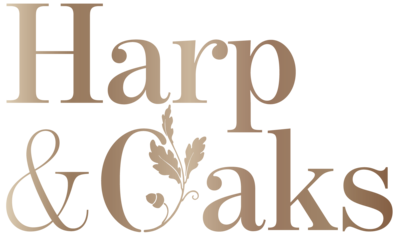 Harp&Oaks-logos-gold-01