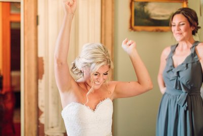 Wedding Photography, bride dancing