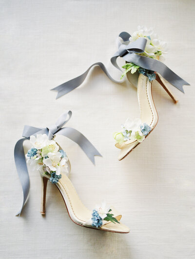 Fine Art Wedding with Bella Belle Shoes by Joy Proctor photographed by Liz Andolina Photography