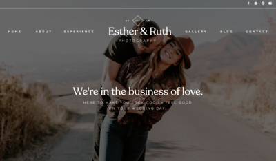 Showit Website Template Photographer DIY