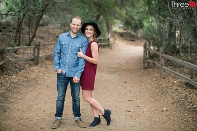 Oak Canyon Nature Center Engagement Photos Anaheim Orange County Wedding Professional Photography