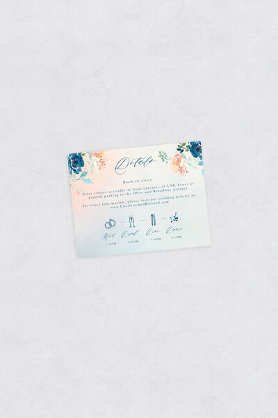 pirouettepaper.com | Wedding Stationery, Signage and Invitations | Pirouette Paper Company | Semi Custom Invitations | The Fleur 02