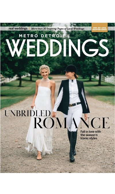 Metro Detroit Weddings Magazine Hour Detroit Amanda Dumouchelle
