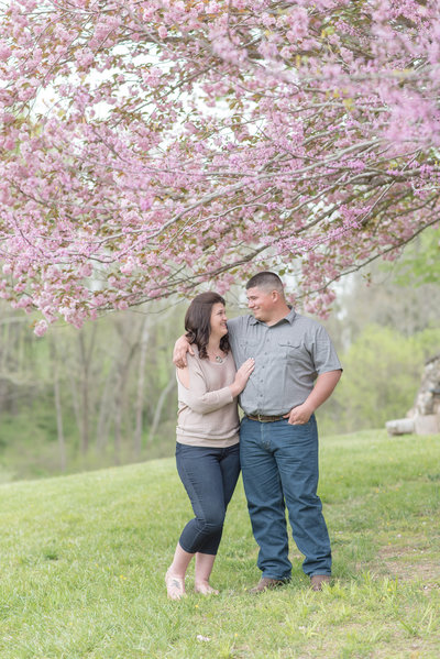 Couples Photography Chesapeake Maryland Trees