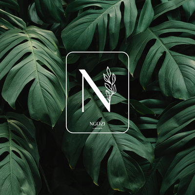 NGOZI submark in front of dark green leaves