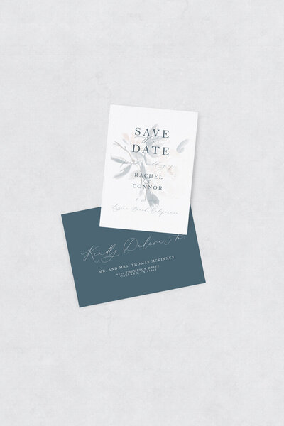 pirouettepaper.com | Wedding Stationery, Signage and Invitations | Pirouette Paper Company | Semi Custom Invitations | The Monroe 12