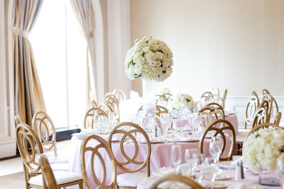 Blush Wedding Reception