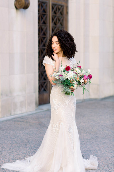 Nashville Bride Morgan Franklin