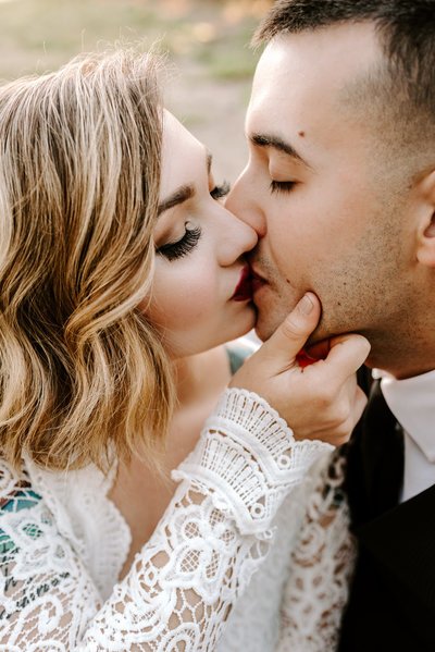 beautiful destination elopement in  Zion National Park