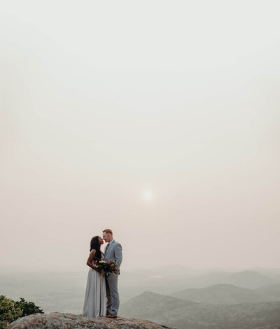 industrial denver wedding couple photos