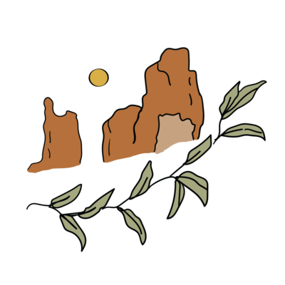utah mountain drawing icon