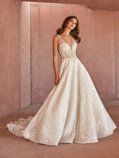 Val Stefani Wedding Dress  3