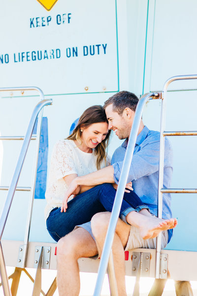 Megan + TJ - Huntington Beach Engagement Session - Lunabear Studios-143