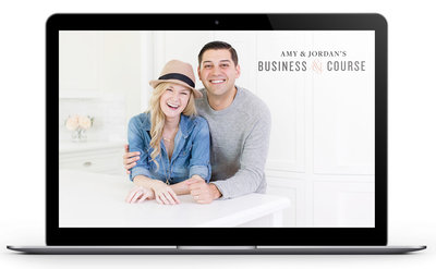 Amy & Jordan's Business Course | Online photography education for portrait and wedding photographers