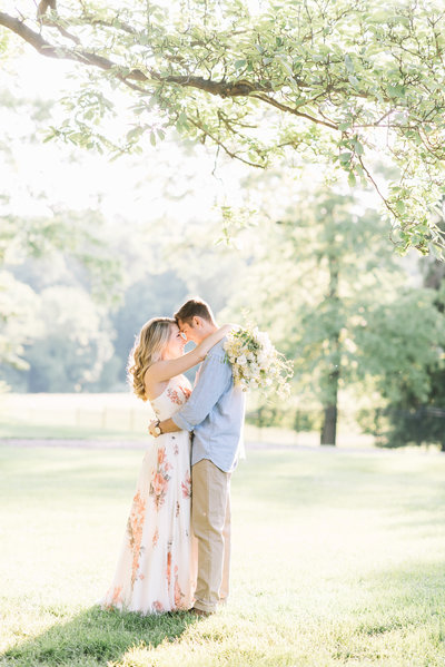 Belmont Manor Wedding Photography Engagement Portrait