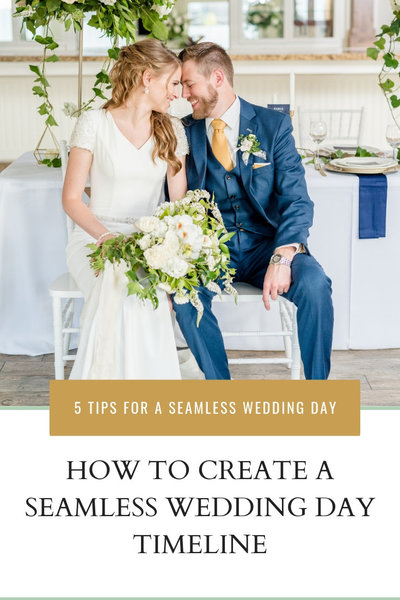 How To Create a Seamless Wedding Day Timeline
