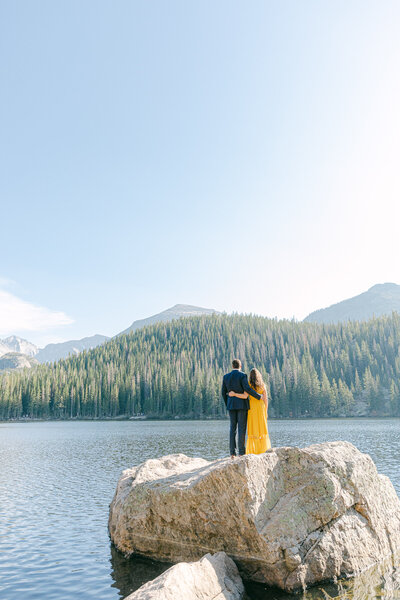 Leidy and Josh Photography | Rocky Mountains National Park Engagement-1