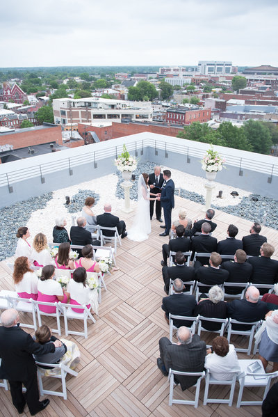 Quirk Roof top Wedding