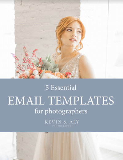 Freebie Email Templates Photography