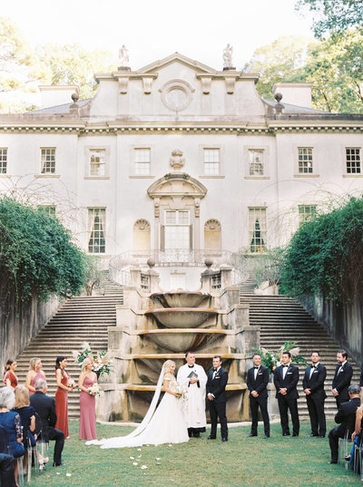 Atlanta History Center Swan House Wedding