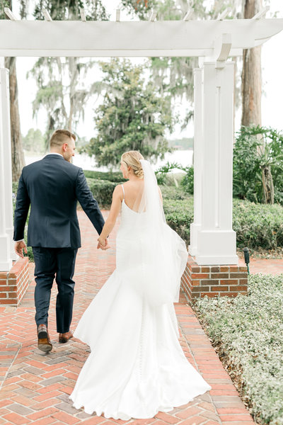 Charleston Bride and Groom Wedding Portrait