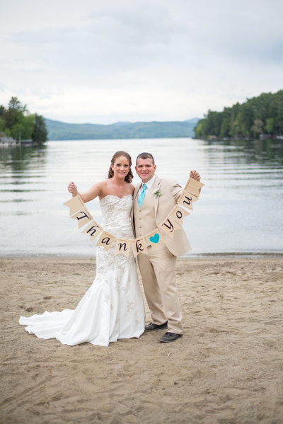 Lake George NY Wedding Couple