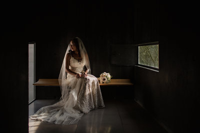 Bride at Phoenix Art Museum